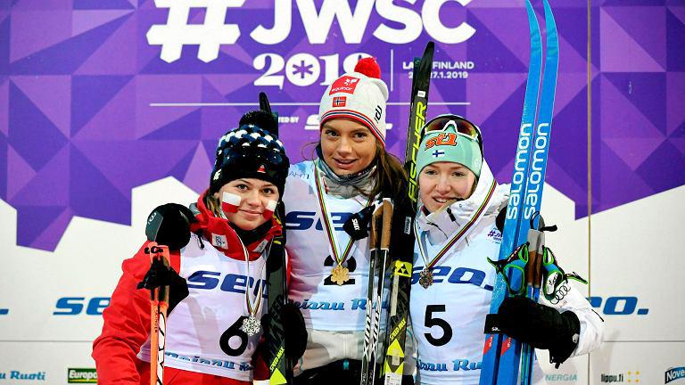 Srebrny medal Moniki Skinder na Mistrzostwach Świata Juniorów wsprincie narciarskim