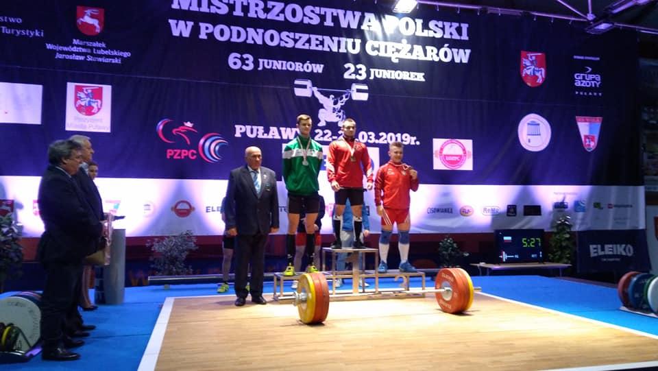 45 medali naszych zawodników na Mistrzostwach Polski U20 podnoszeniu ciężarów