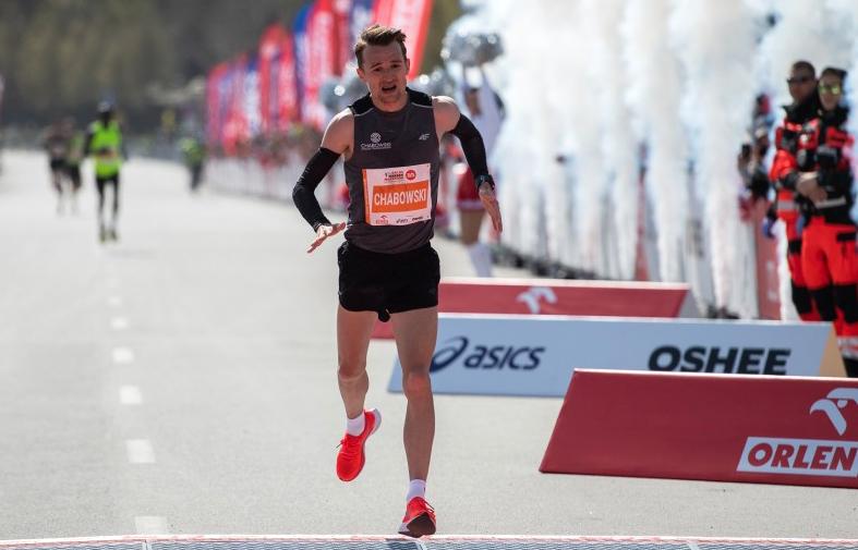 Marcin Chabowski mistrzem Polski wmaratonie