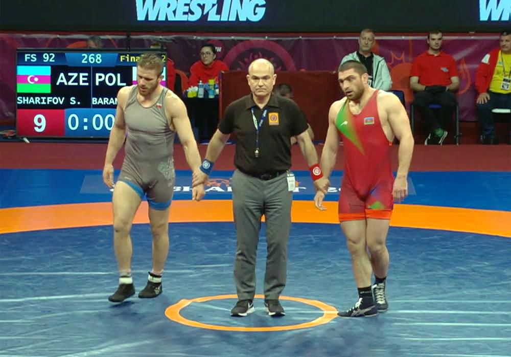 Baranowski i Sakahian srebro, Gadżijew brąz na Mistrzostwach Europy wzapasach