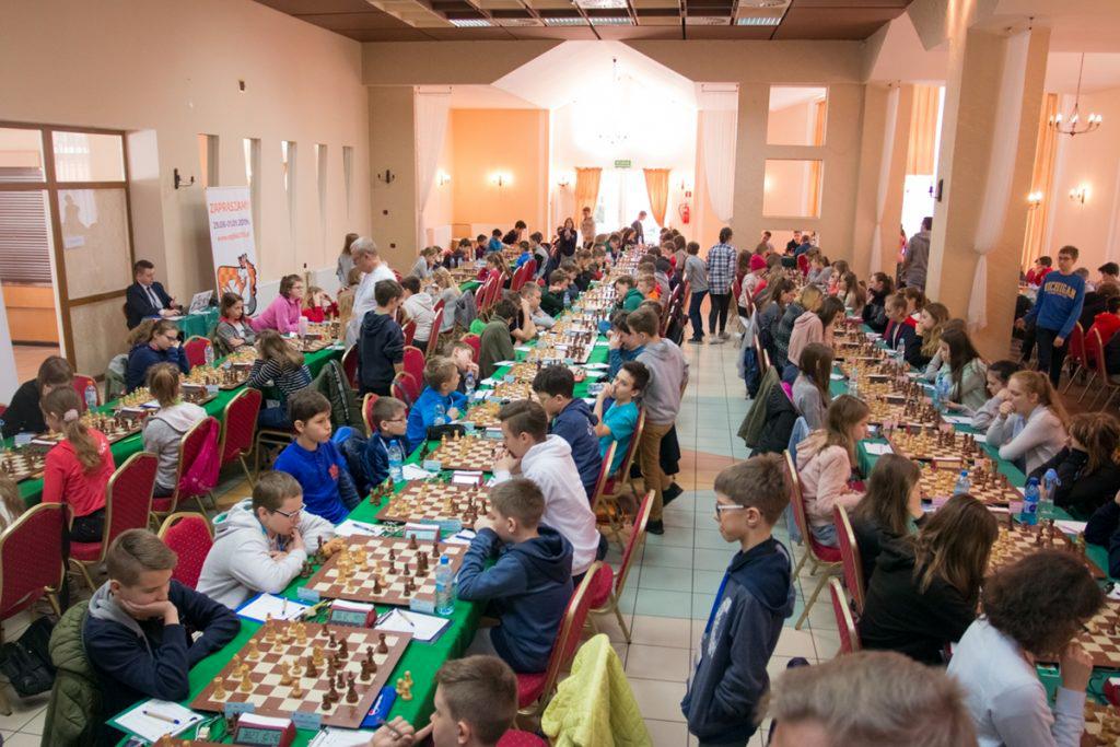 OOM w Sportach Halowych — szachy — 4 medale naszych zawodników
