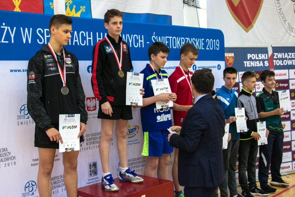 4 medale na OOM dla naszych tenisistów stołowych