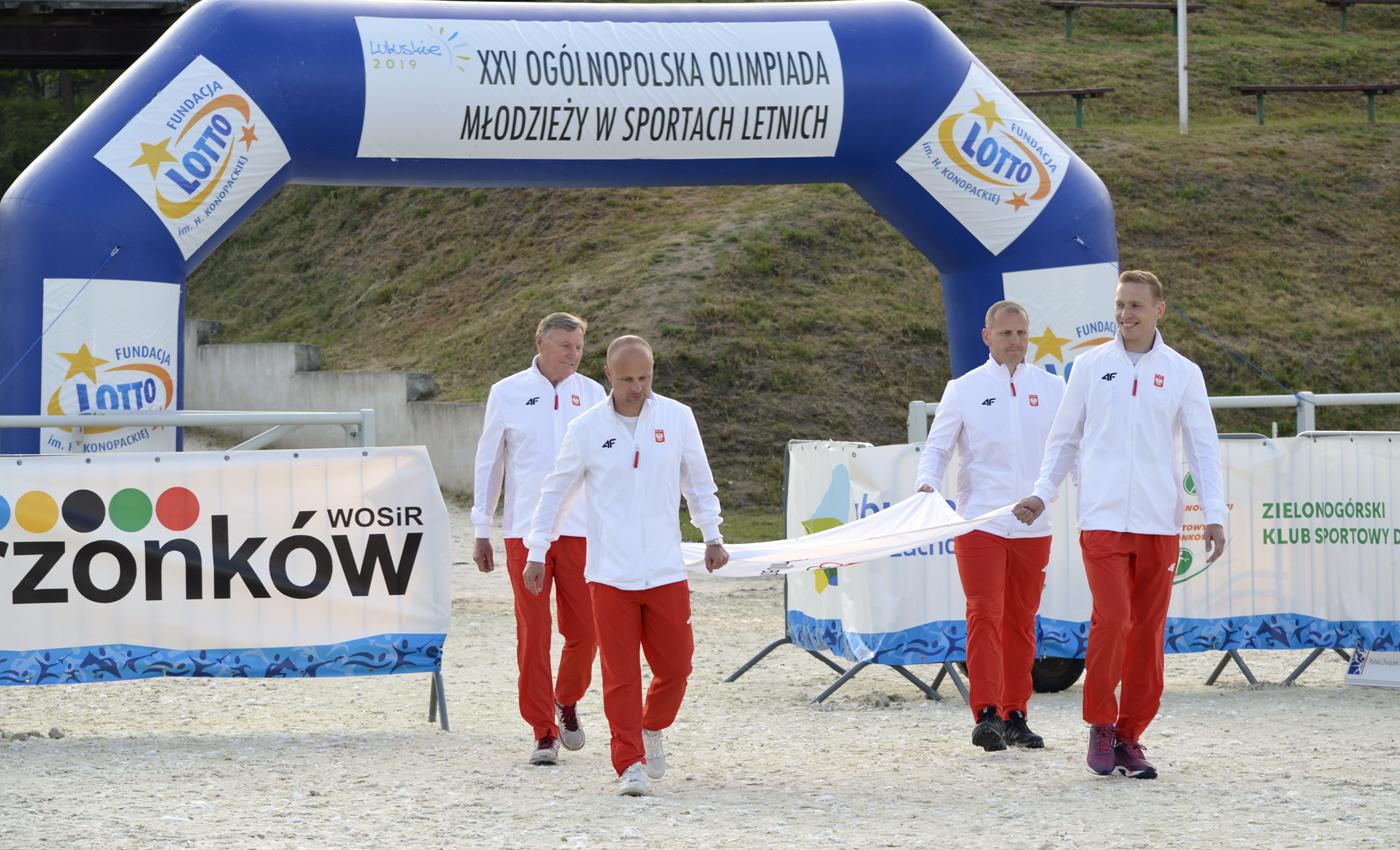 Rozpoczęła się XXV Ogólnopolska Olimpiada Młodzieży wSportach Letnich — Lubuskie 2019