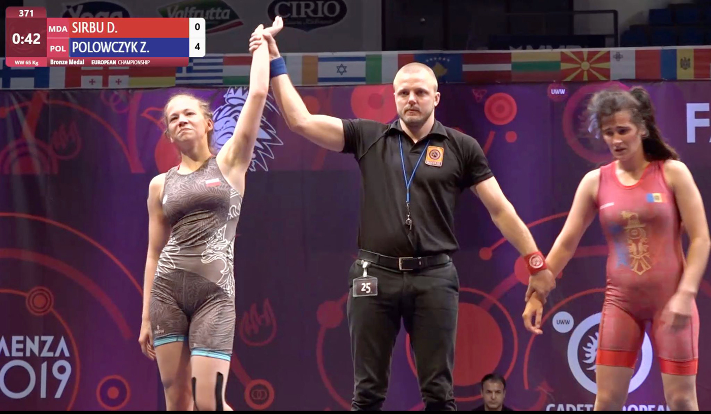 Natalia Walczak iZofiaPolowczyk wywalczyły brązowe medale na MEkadetek wzapasach
