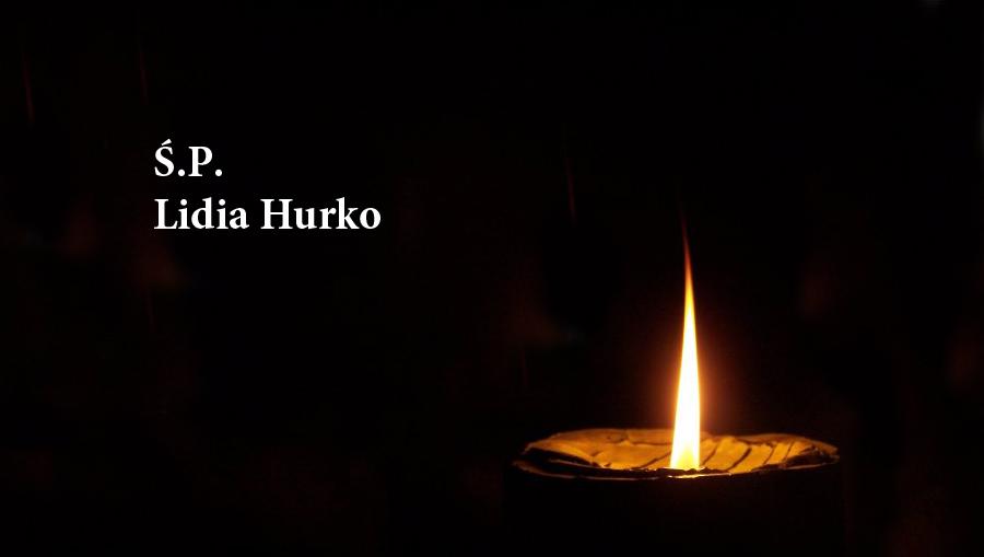 Kondolencje dla Wacława Hurko zpowodu śmierci żony Lidii