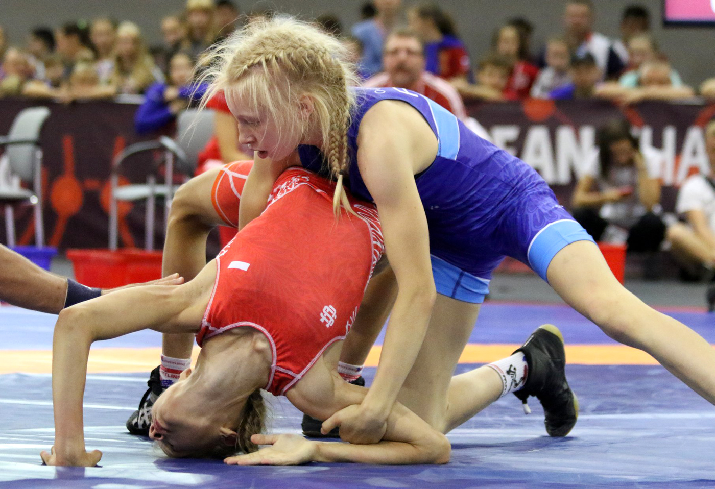 Amelia Tomala zdobyła srebrny medal na MEwZapasach dolat15