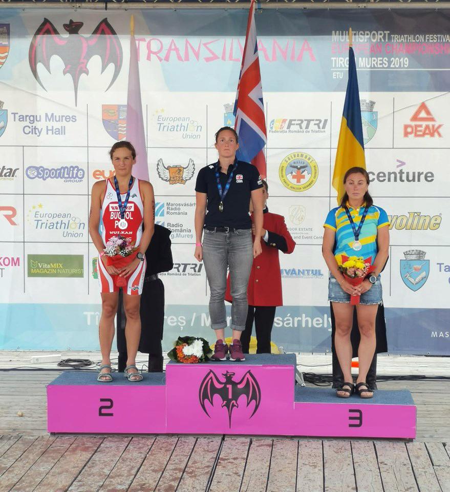 Ewa Bugdoł wicemistrzynią Europy w triathlonie na dystansie średnim ETU<br/>Alicja Ulatowska podwójnie złota wMistrzostwach Świata wAquathlonie ITU