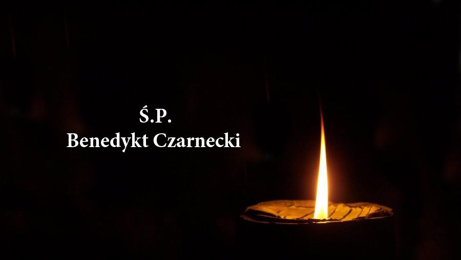Zmarł Benedykt Czarnecki