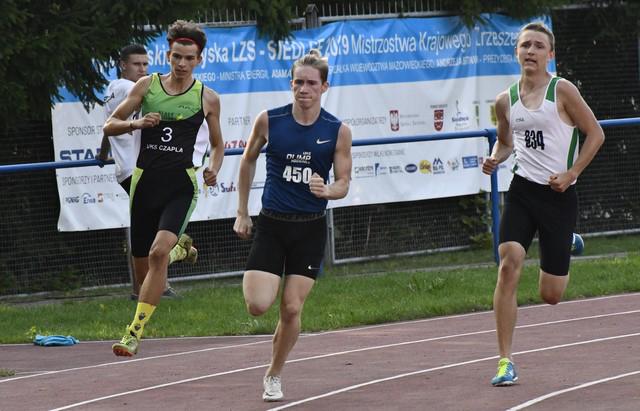 Zawody lekkoatletyczne oPuchar Przewodniczącego Krajowego ZrzeszeniaLZS — Siedlce2019