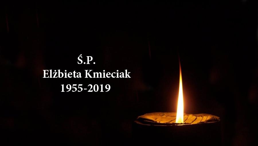 Zmarła Elżbieta Kmieciak