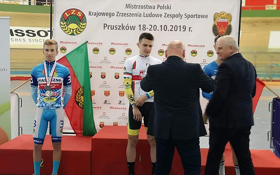 Mistrzostwa Krajowego Zrzeszenia LZS wKolarstwie Torowym<br/>Mistrzostwa Polski wKonkurencjach Nieolimpijskich