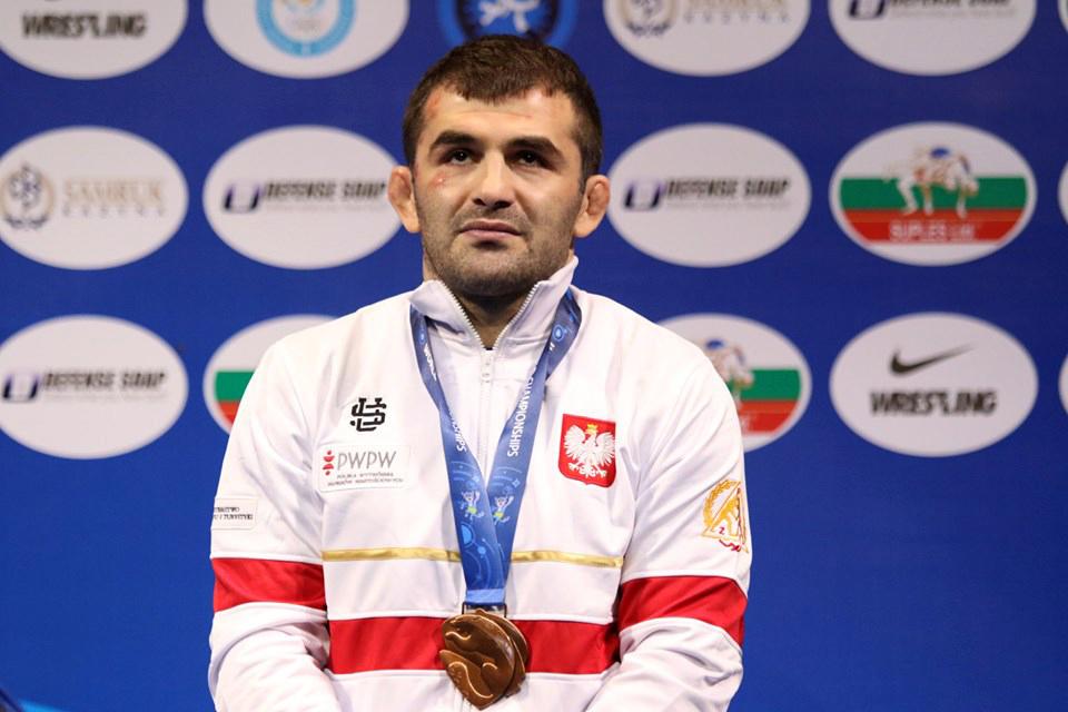 Magomedmurad Gadzhiev brązowymmedalistą MistrzostwaŚwiata wZapasach