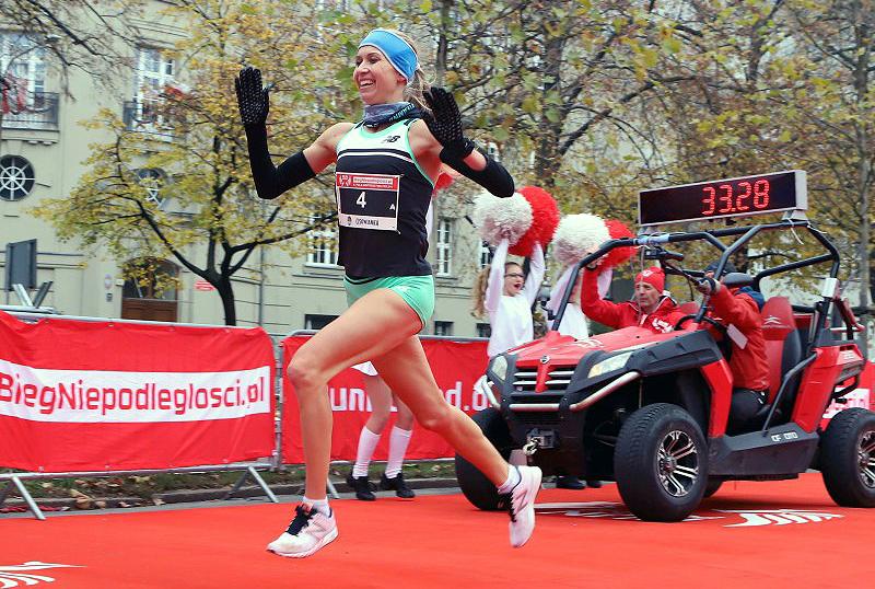Anna Gosk-Bańkowska mistrzyniąPolski wbiegu ulicznym na 10km
