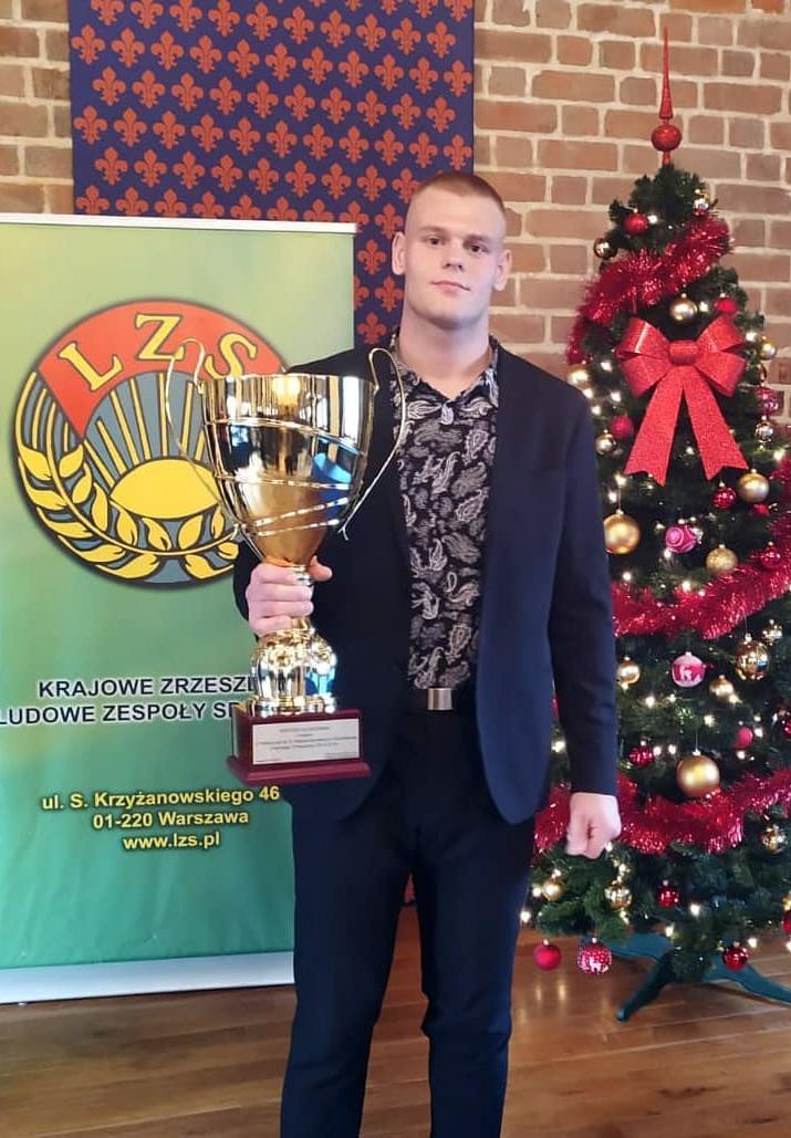 Bartosz Słodkowski — najpopularniejszym sportowcem, Sebastian Pawlak — najpopularniejszym treneremKZLZS w2019 roku