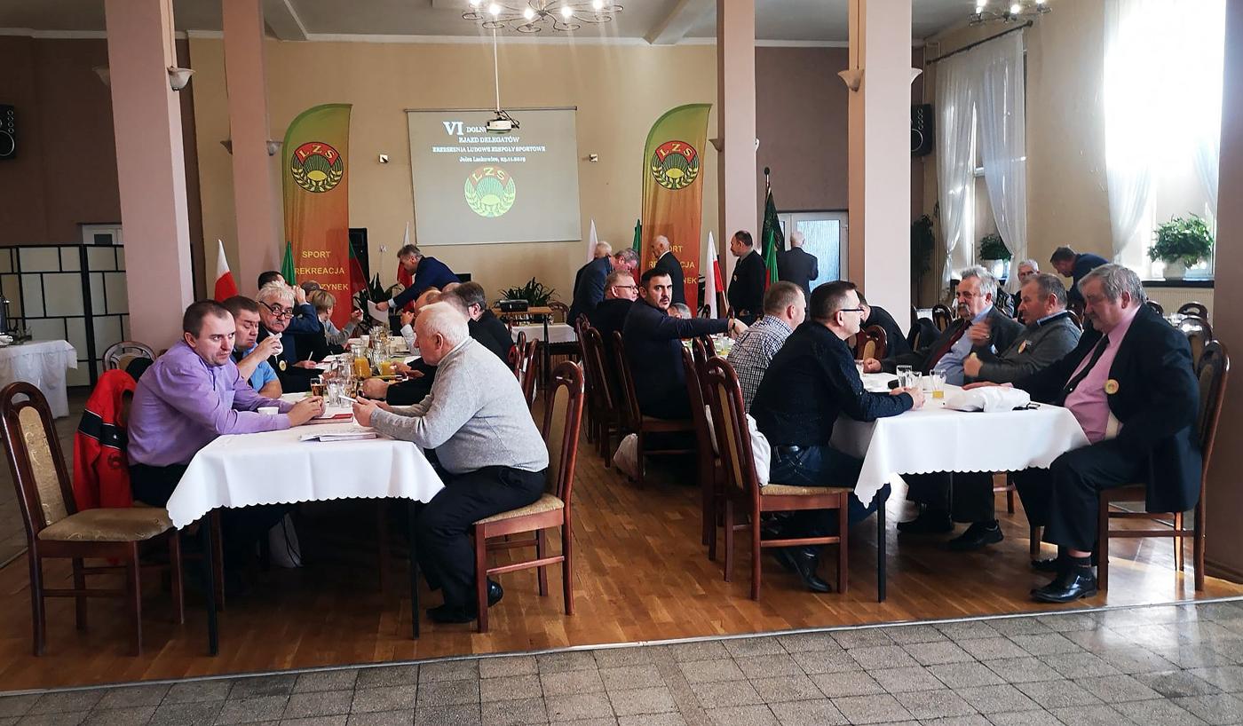 VI Zjazd Delegatów Dolnośląskiego ZrzeszeniaLZS