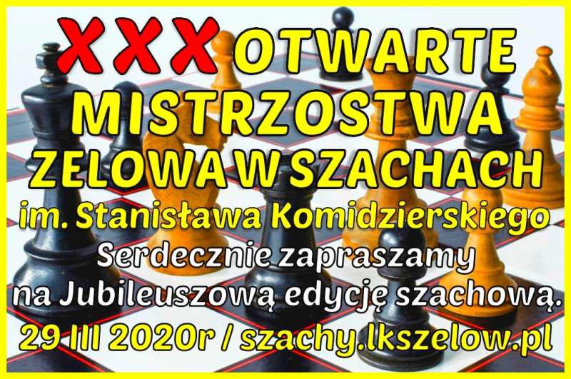 Zelów zaprasza na turniej szachowy