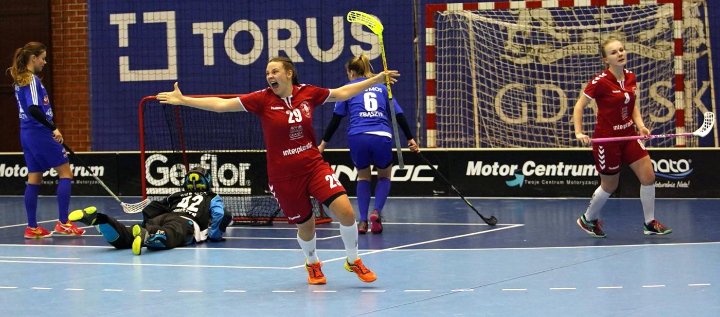 Unihokeistki Interplastic Olimpia Osowa Gdańsk obroniły tytuł mistrzyń Polski