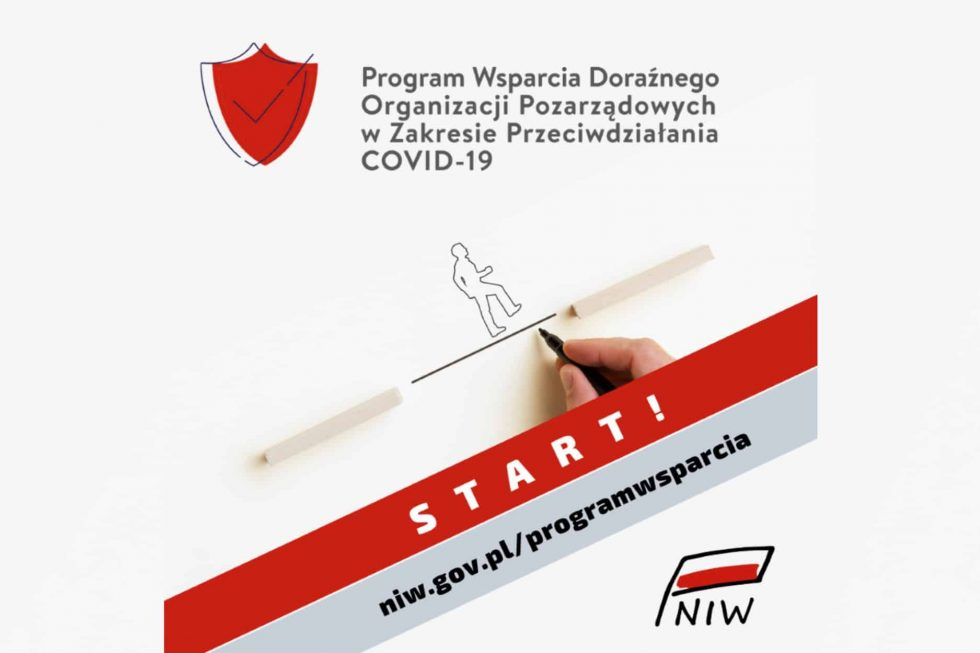 Program wsparcia doraźnego organizacji pozarządowych wzakresie przeciwdziałania skutkom COVID-19