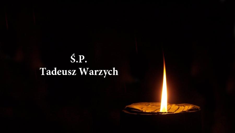 Zmarł Tadeusz Warzych, lekkoatleta, działaczZMW iLZS