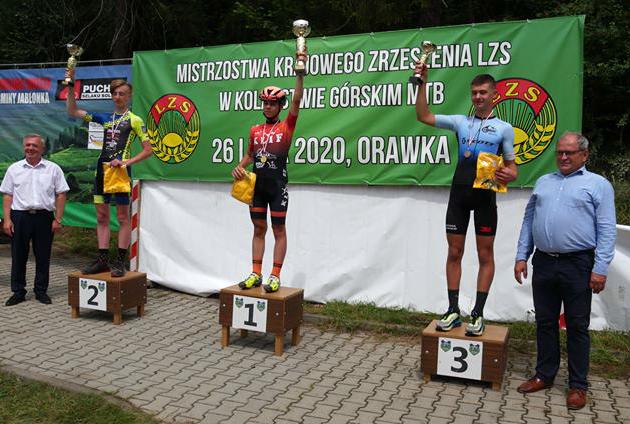 Mistrzostwa Krajowego ZrzeszeniaLZS wMTB —Orawka2020