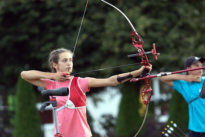OOM Łucznictwo — Mistrzostwa Polski Juniorów Młodszych — 13medali naszych zawodników
