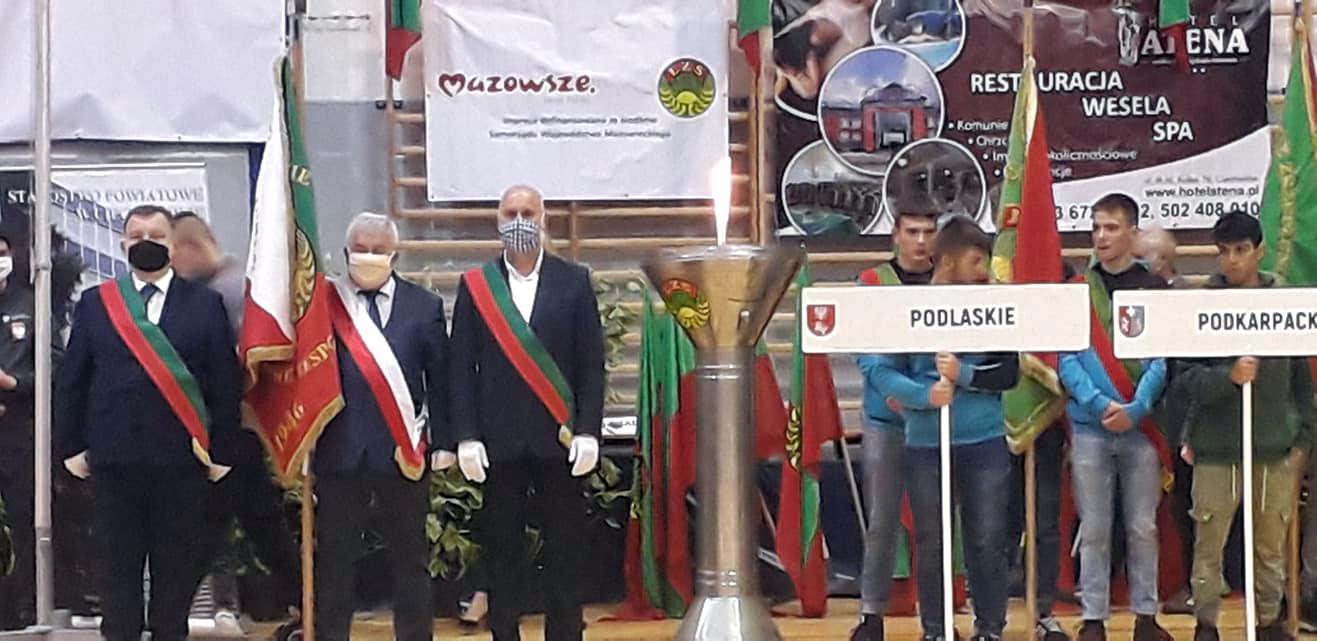 Uroczystość otwarcia XXIII Ogólnopolskich IgrzyskLZS — Ciechanów2020