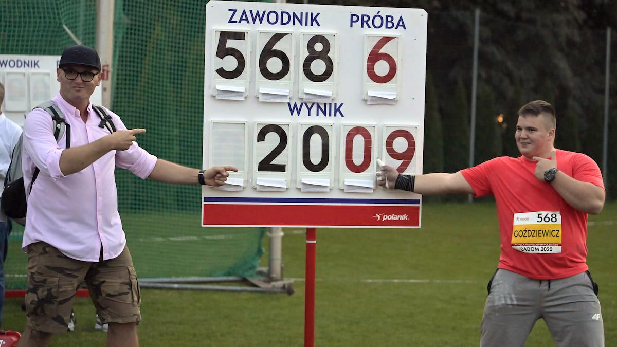 74. PZLA Mistrzostwa Polski U20 — 48medali zawodników zklubów Zrzeszenia LZS
